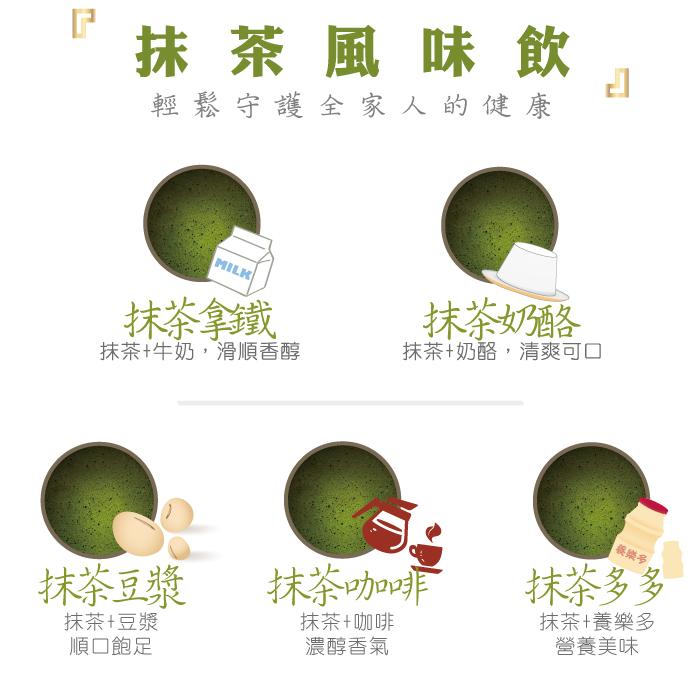 抹茶風味飲: 輕鬆守護全家人的健康
